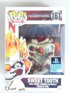 FUNKO-POP-VINYL-TWISTED-METAL-SWEET-TOOTH-161-with-FREE-PROTECTOR