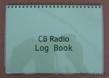 Compact CB Radio Log Book - Laminated Covers