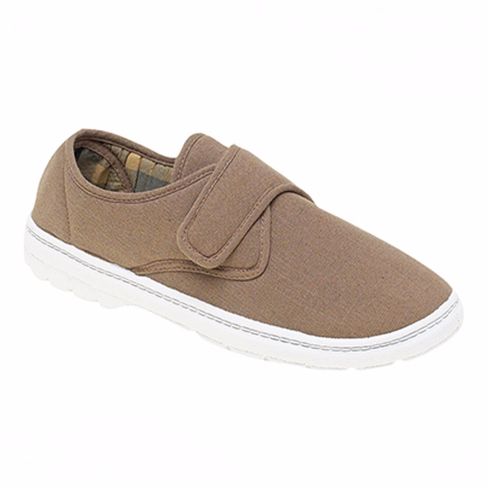 Gordini Padded Lined Adjustable Touch Fasten BNWT* Loafers Shoes Size 8 BNWT* Fasten Taupe 3c40be