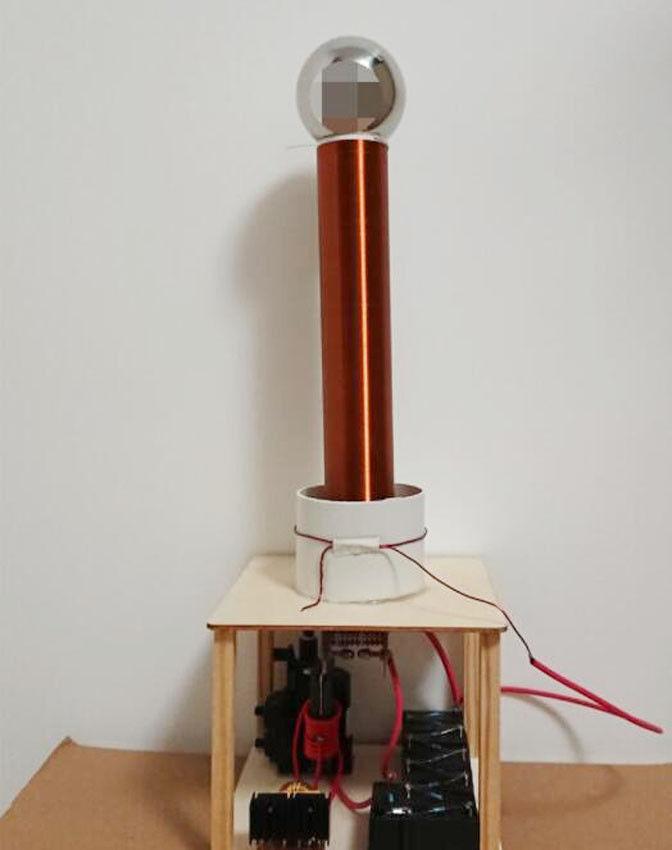 NEW DIY Tesla Coil Suit Arc Test Wireless Electricity Electricity