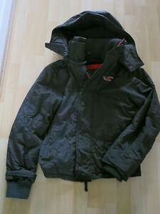 Small From Coat Black Men's Hollister Size Zwg6qO