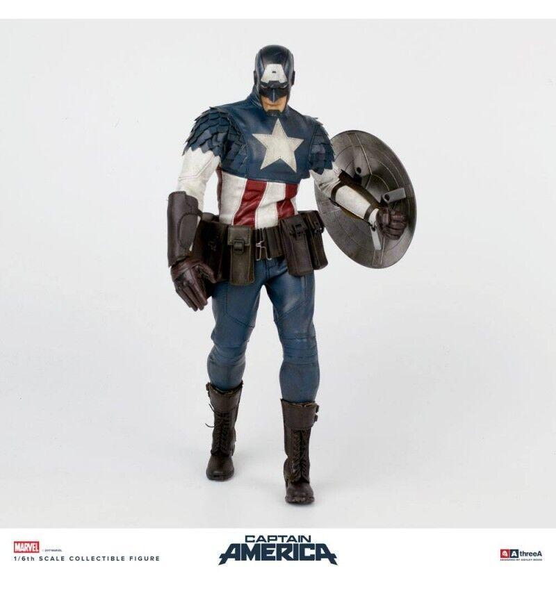 Cuenta Con Tres - Marvel Capitán América by Ashley Wood 32 cm