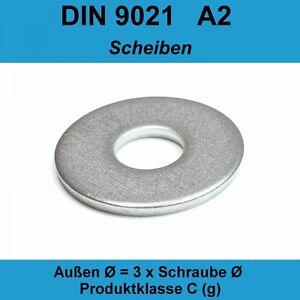 M12 DIN 7980 Federringe für Zylinderschrauben A2 Edelstahl V2A Federstahl 20-500