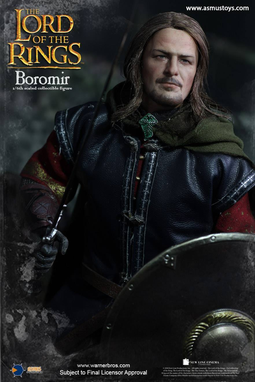 Asmus Toys The Lord Of The Rings Series: Boromir Radicata Capelli Version 1/6