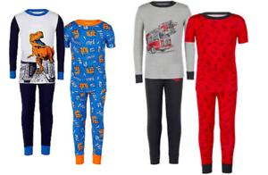 Kirkland Signature Boy/'s 4 Piece Pajamas Set