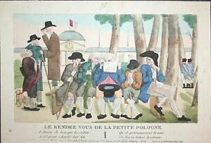 c-1810-meeting-Treffen-rendez-vous-Poland-Polen-caricature-Karikatur-cartoon