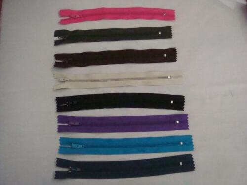 """Lot 6 Pieces USA SHIP Small Nylon Zipper Pick  from  10 Different Colors 7/"""" L"""