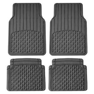 Heavy Duty Car Floor Mats For Sedan SUV Van Truck Vinyl