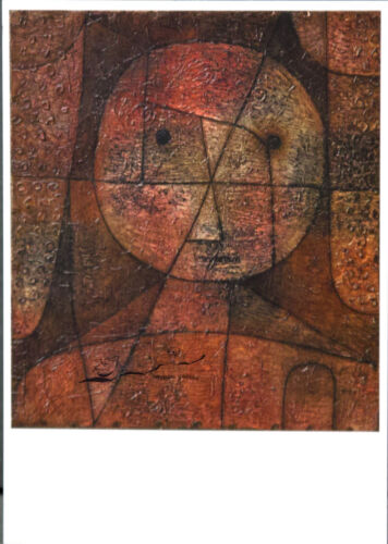 Gezeichneter Postkarte  Bauhaus  Paul Klee