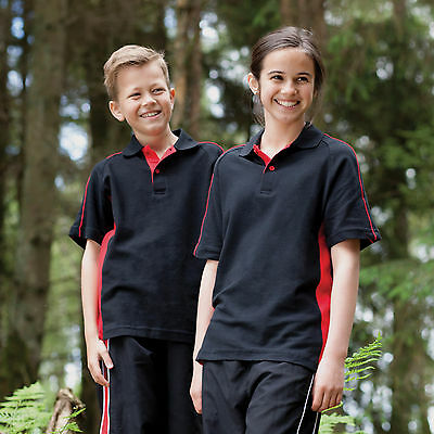 Finden & Hales Kid's Sports Polo All Colours & Sizes