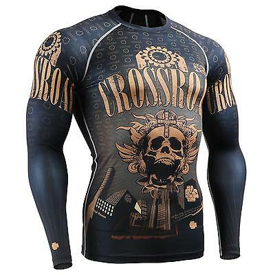 FIXGEAR CFL-27 Compression Base Layer Under Shirts MMA Workout Fitness Crossfit