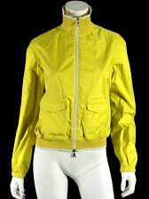 PRADA SPORT Bright Yellow Nylon Techno Zip Windbreaker Jacket 44