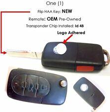 VW passat beatle Gulf keyless remote entry clicker alarm controller new flip key