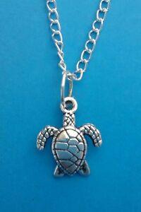 SEA-TURTLE-TORTOISE-Pendant-with-Necklace-Christmas-Birthday-GIFT
