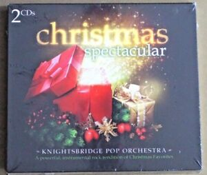 Christmas Spectacular 2 CD set music audio Knightsbridge Pop Orchestra new