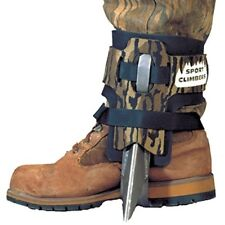 Steel Spur Tree Climbing Spikesshoes Straps Pair Forestry Treestand Hunting