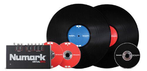 Numark VIRTUAL VINYL Professioneller DJ Digital Vinyl Software System for Mixing