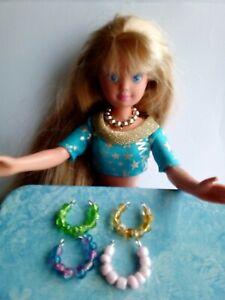 Brillant Accessoires Made For Vintage Barbie Skipper Poupées-afficher Le Titre D'origine Confortable Et Facile à Porter