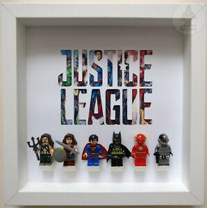 LEGO Marvel Avengers Minifigure Display Frame Stand Superhero Birthday Gift