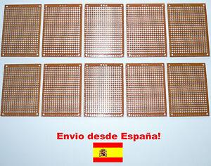 10X-Nuevo-Placa-Prototipo-PCB-kit-Circuito-PROTOBOARD-ARDUINO-Breadboard-ref54
