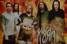 KORN - A3 Poster (ca. 42 x 28 cm) - Band Clippings Fan Sammlung NEU