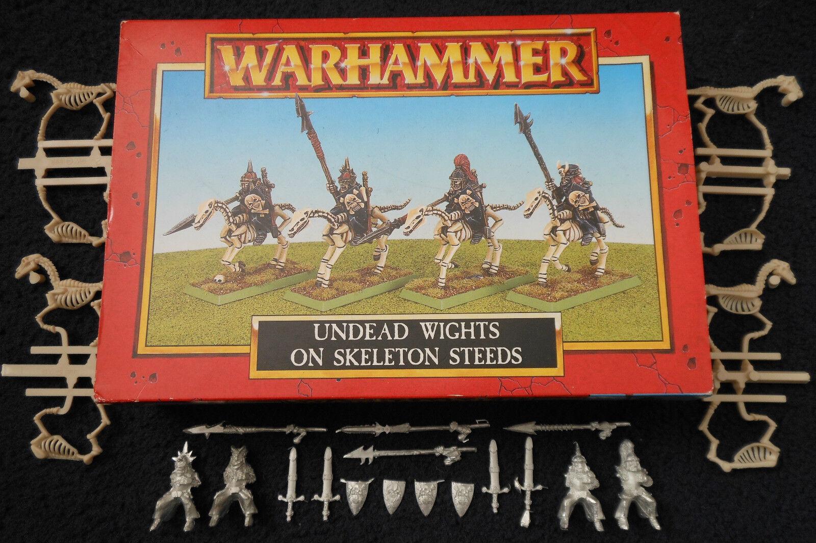 1997 no-muertos wights sobre Esqueleto steeds Warhammer Citadel caballería Condes Vampiro