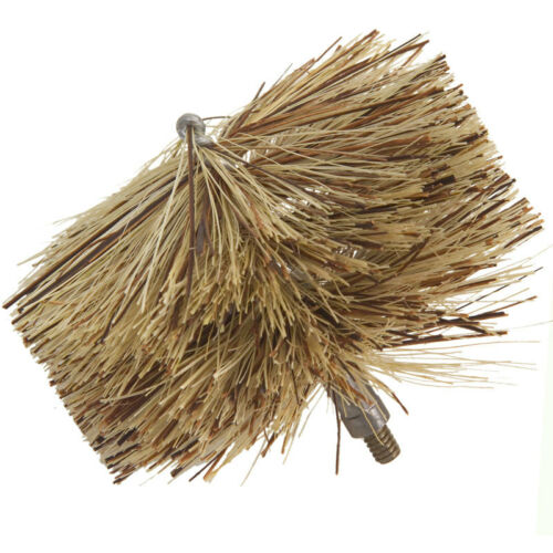 "Fiber Pellet Stove Brush Imperial Manufacturing 3/"" 4/"" vent flue dryer soot lint"