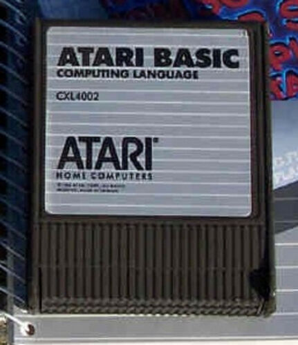 Basic Cartridge Atari Orig Rev C New 400//800//XL//XE no box//no manual