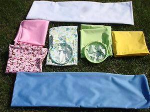 Diaper Genie elite Cloth Refill Gift set starter pack 2