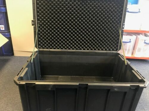 Large black robust storagetransport case 800505400mm(LxWxH)