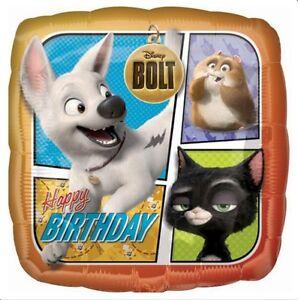 053cb86715b DISNEY BOLT RHINO MITTENS HAPPY BIRTHDAY PARTY 18
