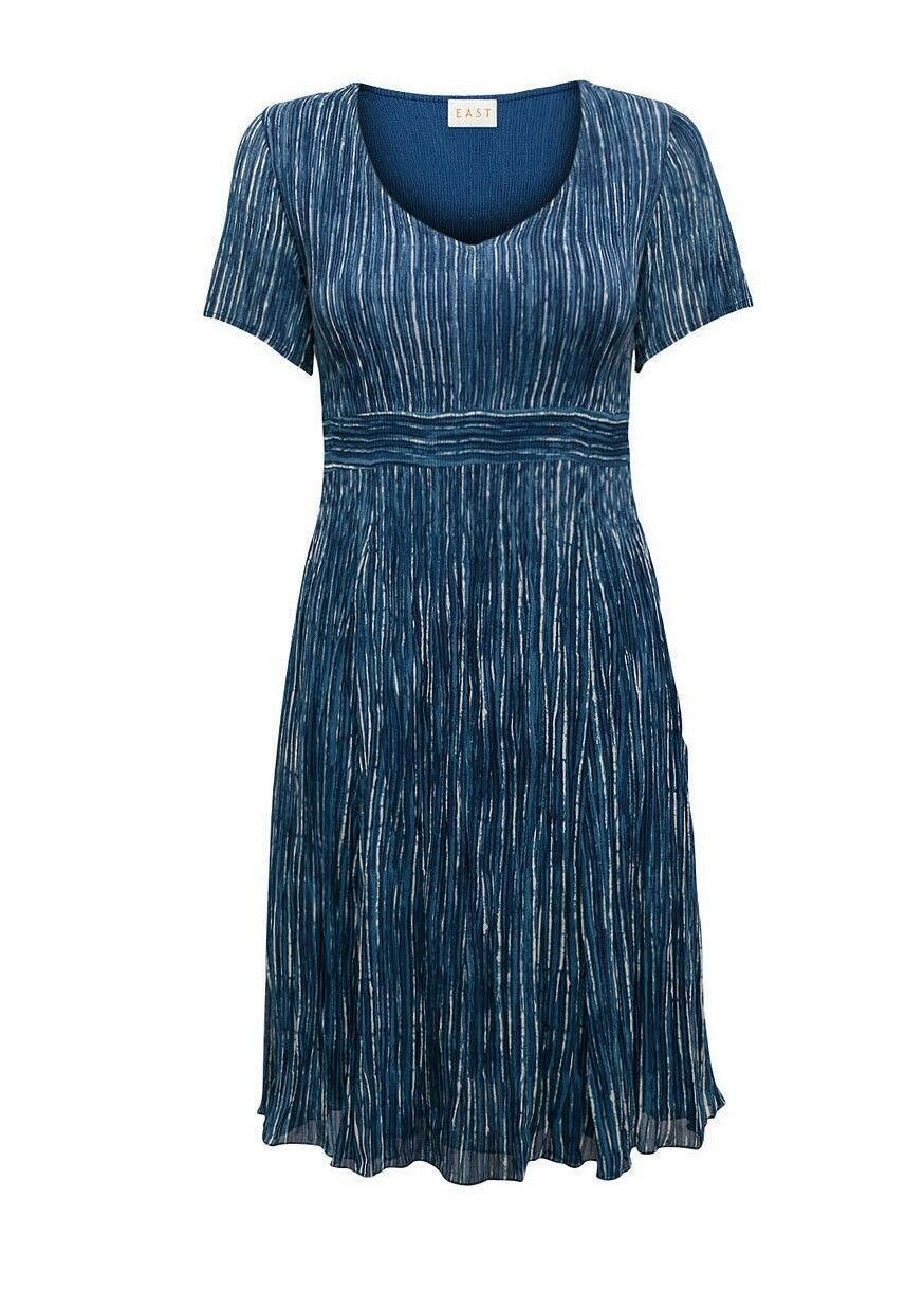East Yoko Bubble Dress Indigo -- Größe UK 18 - BNIP