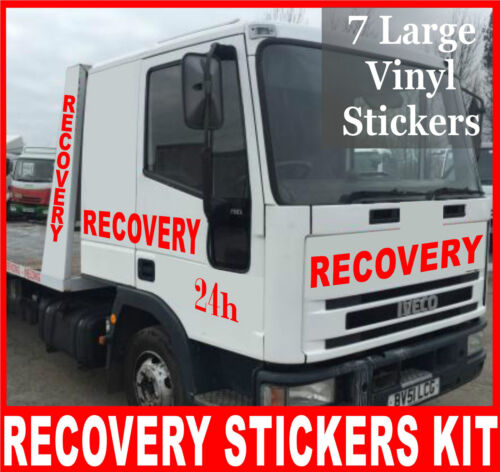 2 x Recovery Professional 7 Stickers Sign Making KIT Vinyl Decal Graphics