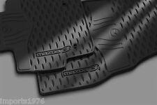 2010 - 2013 Mazda3 Genuine OEM All weather Floor Mats set of 4 : Fits 4 & 5 Door
