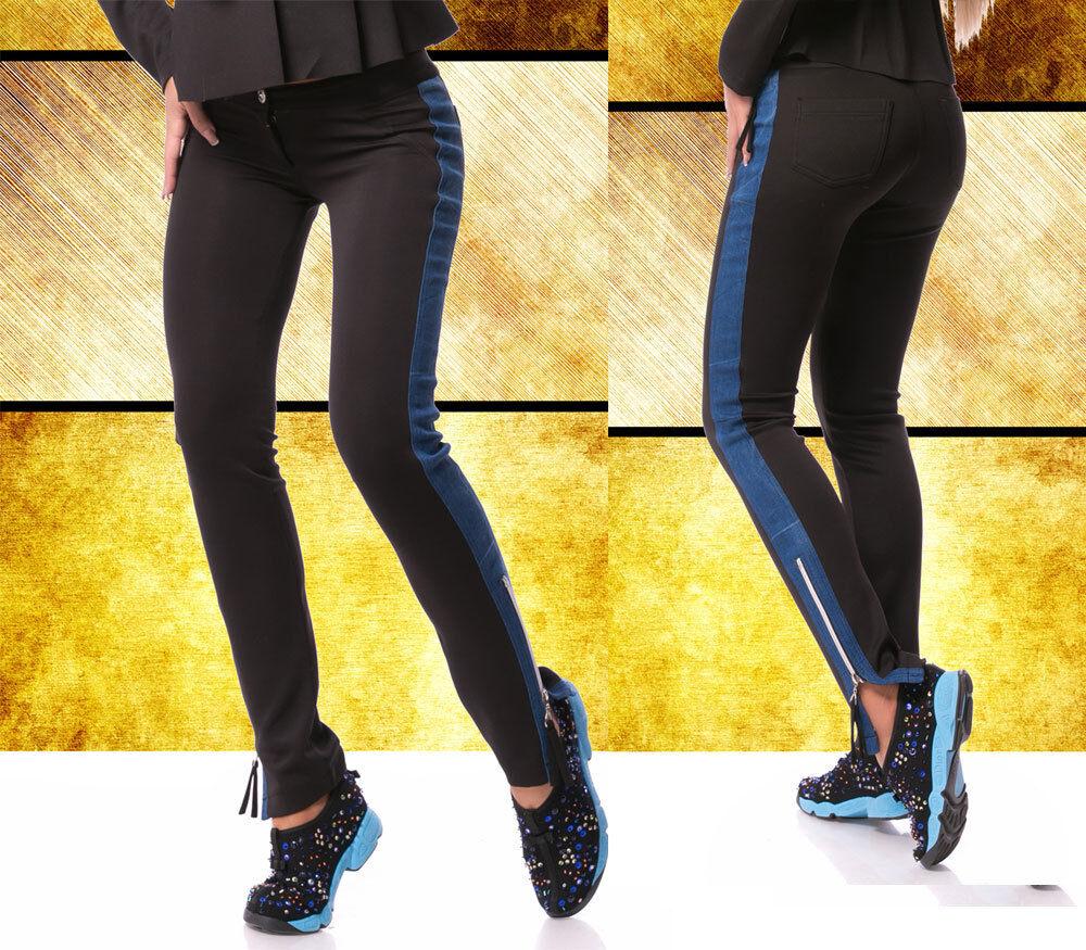 Ocassion Ocassion Ocassion donna pantaloni tubi pantaloni tessuto Jeans Pantaloni Jeans A Sigaretta Pantaloni Zipper M 38 81b46c