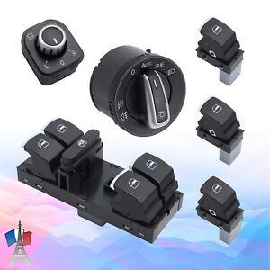 Commutateur-leve-vitre-pour-interrupteur-de-lumiere-pour-VW-Golf-5-6-Passat-3C