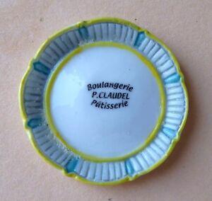 Fève perso Claudel - Les Gourmandises Pâtissières - 2010 - Une Assiette d5Th38x3-09115527-676216214
