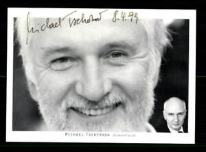 Autogramme & Autographen Michael Tschernow Autogrammkarte Original Signiert# Bc 121502 Schrecklicher Wert Original, Unzertifiziert