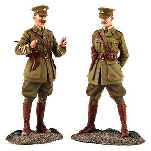 Soldats Britanniques 23098    Réunion du Major et du Lieutenant britanniques Ww1 884101230982  the Conference