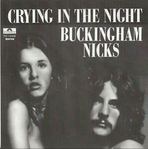 BUCKINGHAM-NICKS-034-CRYING-IN-THE-NIGHT-034-7-INCH-RED-VINYL-PROMO-COPY-MONO-STEREO