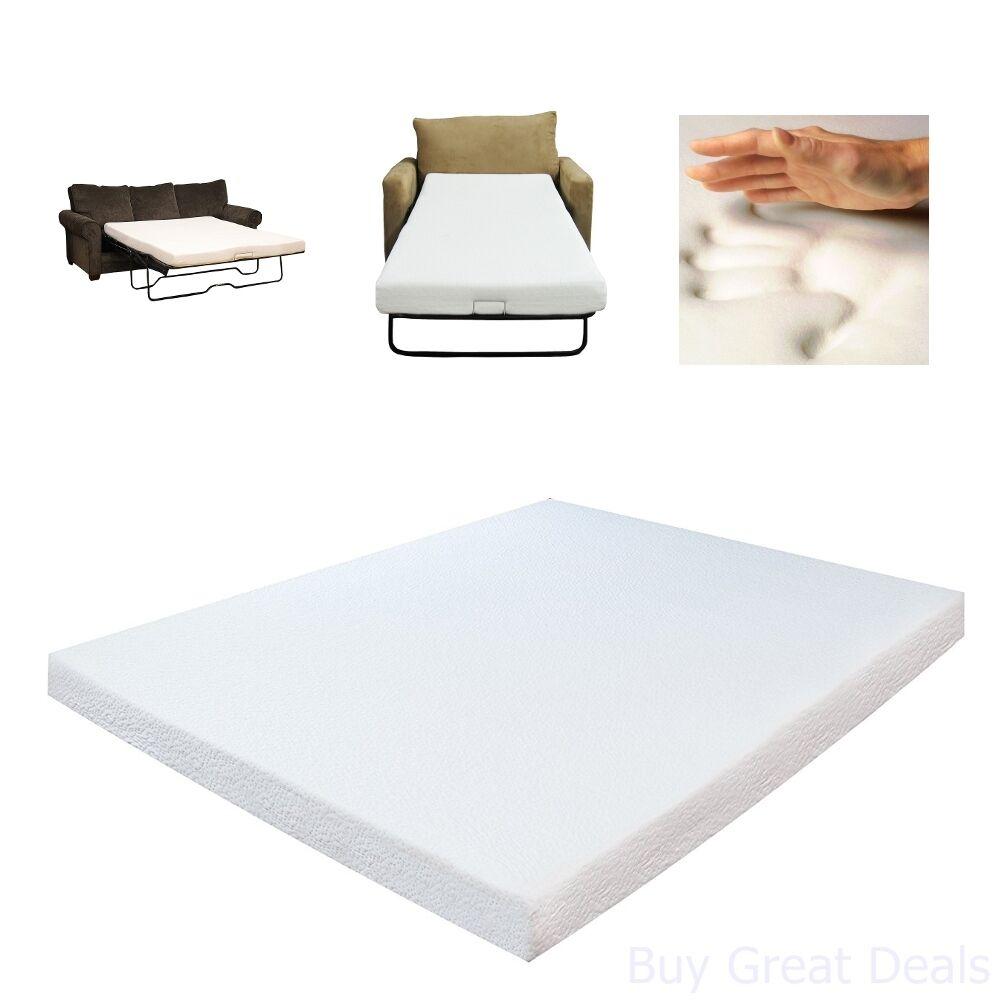 - Queen-size Memory Foam Sofa Bed Sleeper Mattress-Select Luxury