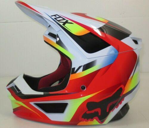 Fox Racing V1 YOUTH Off-Road Helmet Motif Red//White