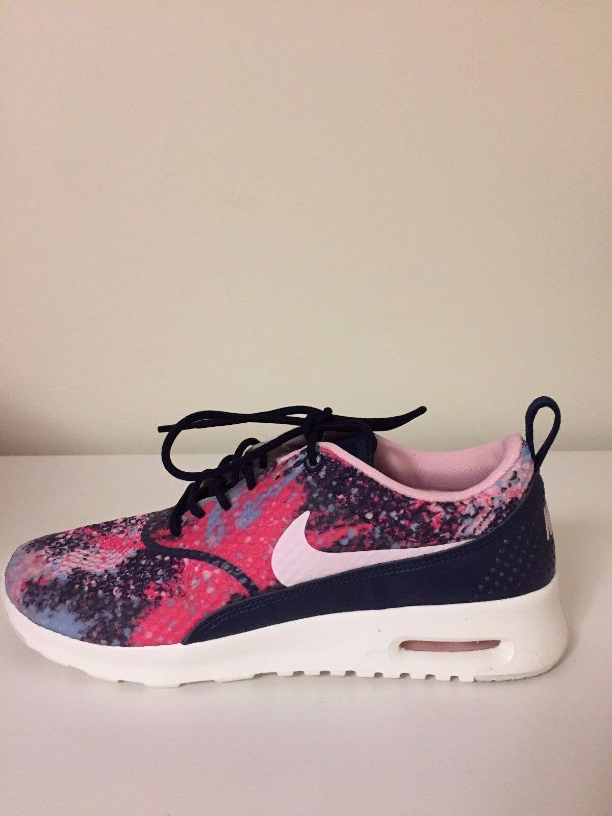 Nike Air Max Thea Thea Thea Print Premium 599408-406 colorfull Wmn Sz 7 8459a6
