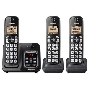 Panasonic-KX-TG833SK-Cordless-Phone-Answering-Machine-System-Link2Cell-Bluetooth
