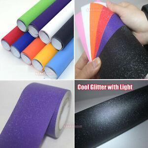 Decor-Car-House-Glitter-Flicker-Twinkle-Sparkle-Vinyl-Wrap-Tape-Decal-Sticker-AB