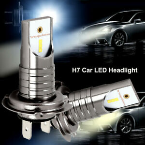 2x-110W-H7-LED-Kit-Ampoule-Voiture-Feux-Phare-Lampe-Kit-Remplacer-Xenon-6000K