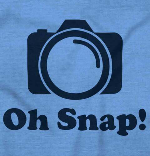 Oh Snap Funny Shirt Instagram Insta Photography IG Cool Gift Youth Tee Shirt T