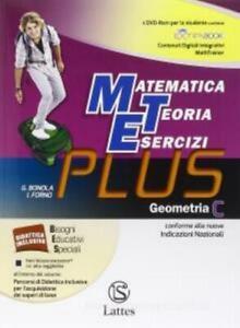 Matematica-Teoria-Esercizi-PLUS-Geometria-C-Bonola-Forno-LATTES-cod9788880428480