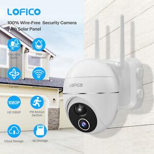 Extérieur Caméra de sécurité Surveillance Sans fil IP Caméra + Panneau solaire