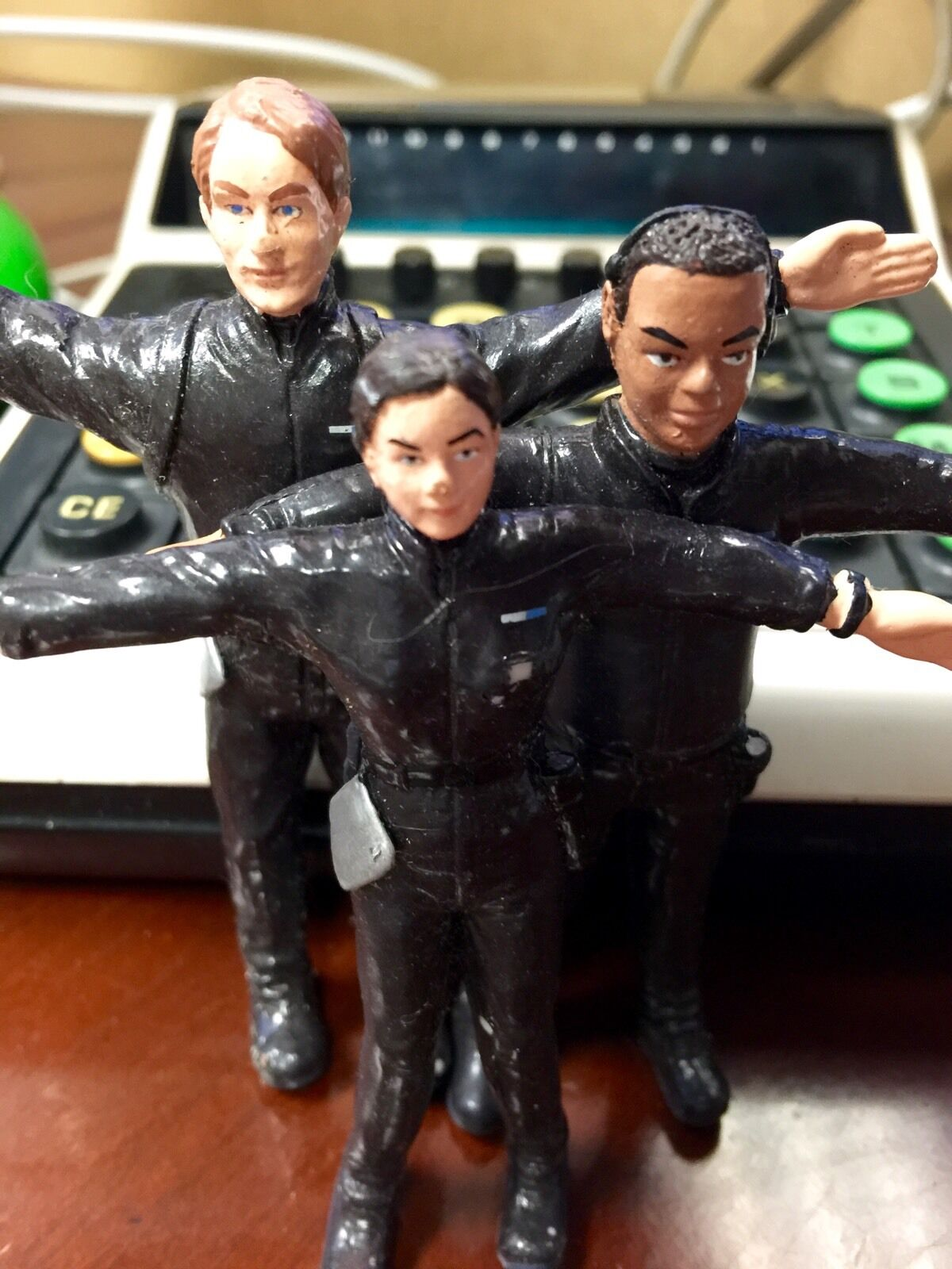 VERY RARE Certified Microsoft Professional Action Figures FULL SET